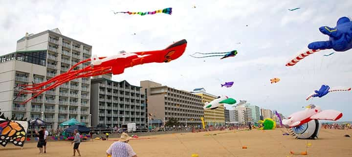 Virginia Beach hotel - events - Atlantic Coast Kite Festival