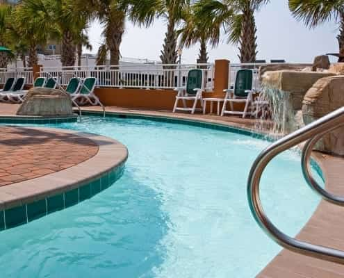 Virginia Beach hotel - lazy river