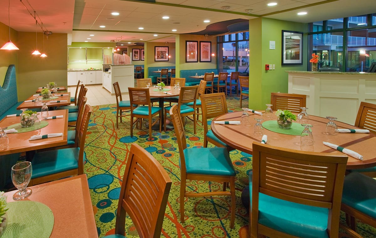 Virginia Beach hotel - The Greenery restaurant
