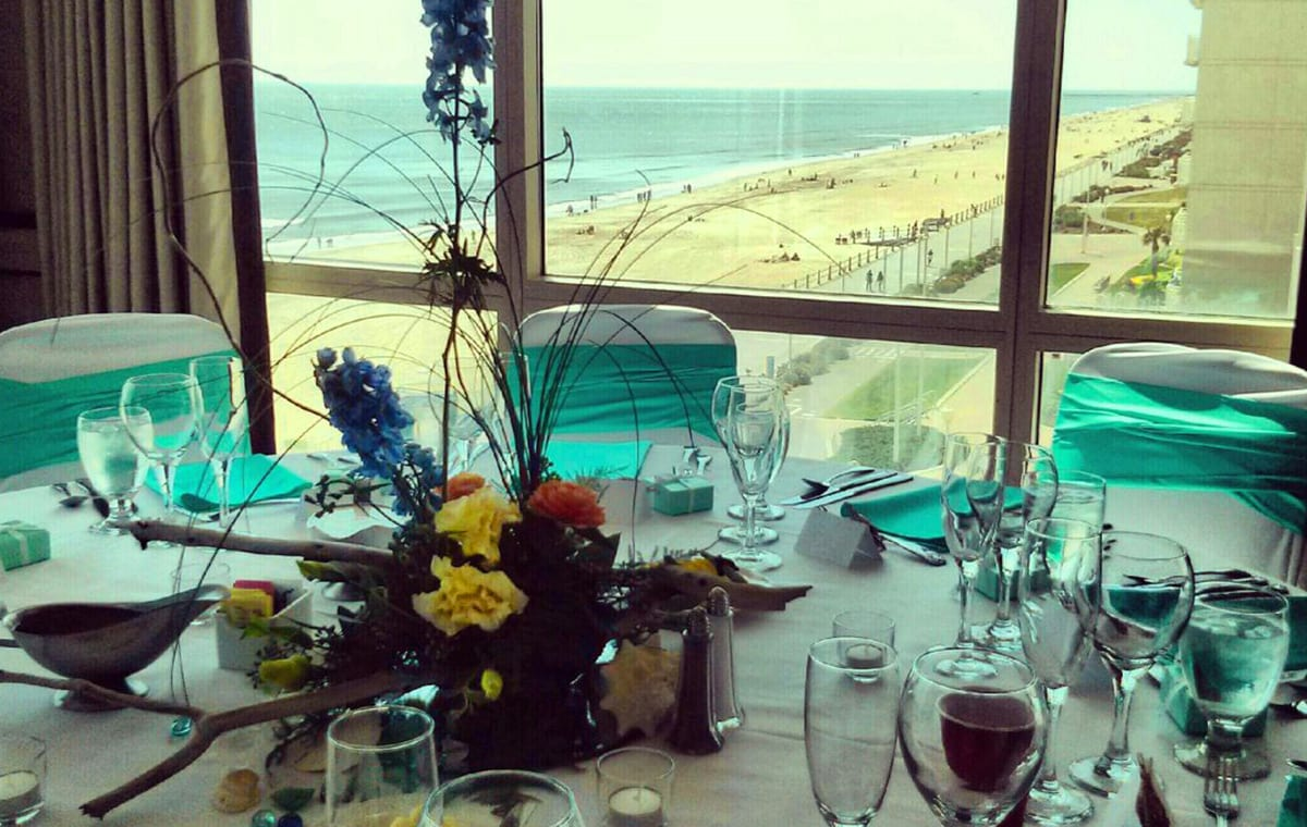 Virginia Beach hotel - Vista Del Mare - oceanfront weddings