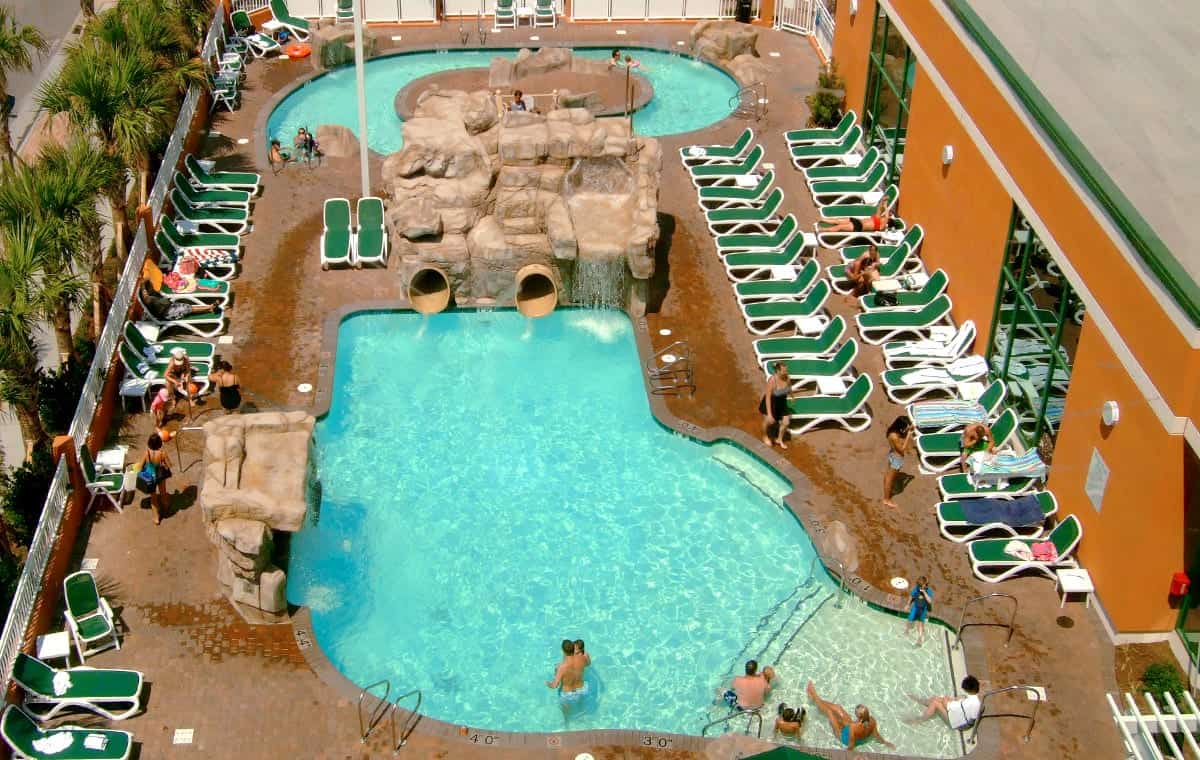 Virginia Beach hotel - Splish-Splash lagoon