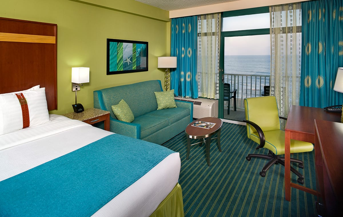 Virginia Beach hotel - oceanfront king bed room