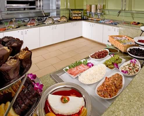 Virginia Beach hotel - The Greenery breakfast buffet