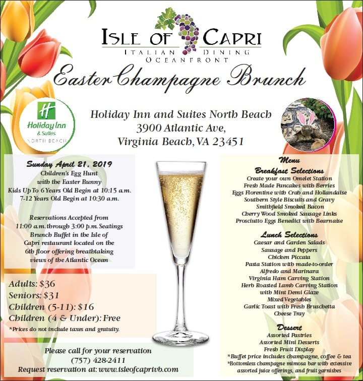 Virginia Beach Isle of Capri Easter 2019