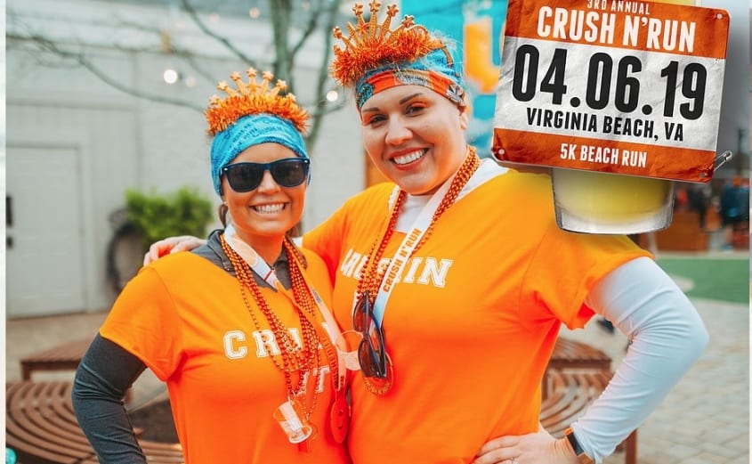 3rd Annual Crush 'N Run 5k Beach Run | Virginia Beach Oceanfront Hotel