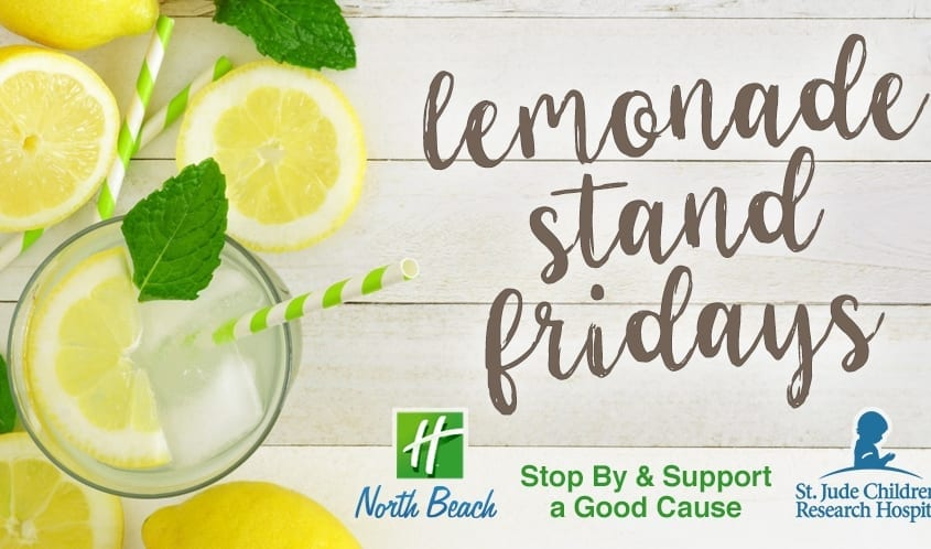 Lemonade Stand Fridays Charity Event | Virginia Beach Hotel
