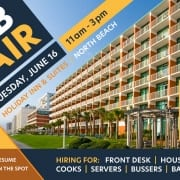 Help Wanted - Job Fair - Virginia Beach Hotel & restaurants