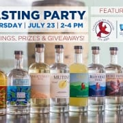 Summer Tasting Series at the Square Whale with Chesapeake Bay Distillery | Virginia Beach Hotel & restaurants