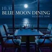 Blue Moon Oceanfront Dining Event at Isle of Capri | virginia Beach oceanfront Hotel